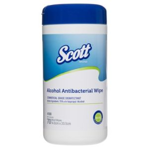 Scott Antibacterial Alcohol Wipes product photo