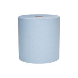 Hand Roll Towel 1 Ply 304M Blue product photo