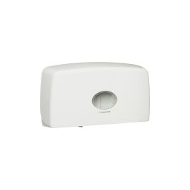 BATHROOM TISSUE DISPENSER JRT TWIN 1X1 product photo