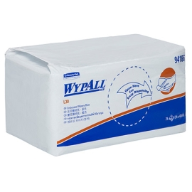 WYPALL WIPER 3PLY EMB BLUE 42X24CM G product photo
