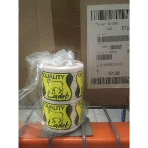 Quality Lamb Oblong Yellow Label product photo