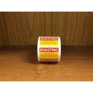 Roasting with Directions Label product photo