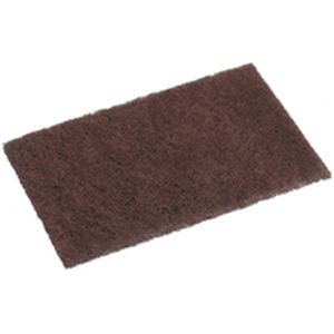 Scouring Pad All Purpose Maroon 15x10cm product photo