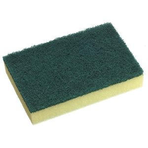 Scouring Sponge All Purpose Green 150x100mm product photo