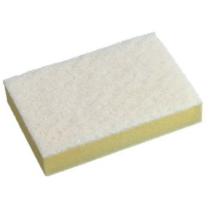 Scouring Sponge Premium White 150x115mm product photo