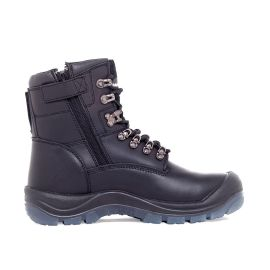Blast Zip Lace Up Safety Boot Black product photo