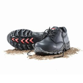 Boss Lace Up Safety Shoe Black product photo
