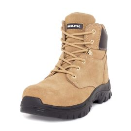 Carpenter Lace Up Zip Safety Boot Honey product photo