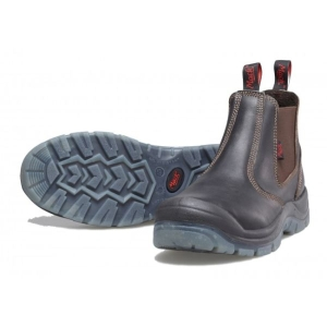 Piston Slip On Safety Shoe Claret product photo