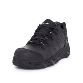 Power Lace Up Safety Shoe Black product photo