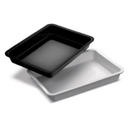 16x12x2 Plastic Tray Black product photo