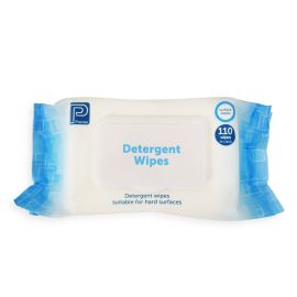 DETERGENT WIPE - ALCOHOL FREE PACK 110 SHEET product photo