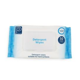 DETERGENT WIPE - ALCOHOL FREE PACK 50 SHEET product photo