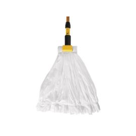 #24 Disposable Wet Mop, 12.7cm Headband, White product photo