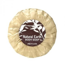 Natural Earth Pleatwrapped Soap 40g product photo