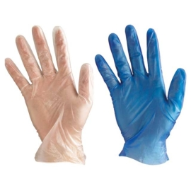 Vinyl Powdered Blue Glove product photo