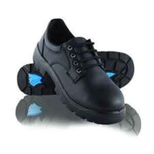 Eucla Lace Up Steel Toe Shoe Black product photo