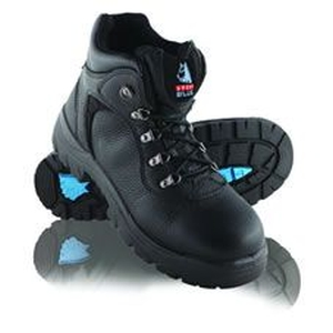 Riverina Lace Up Safety Boot Black product photo