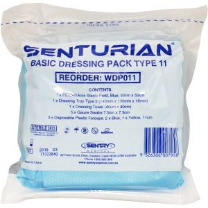 Senturian Basic Dressing Pack #11 Tear Pack product photo