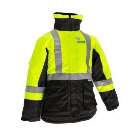 Coolroom Jacket Black Yellow 2X-Large product photo
