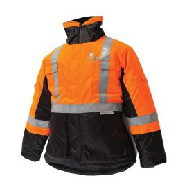 Freezer Jacket Black Orange product photo