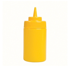 Squeeze Bottle Yellow 360ml product photo