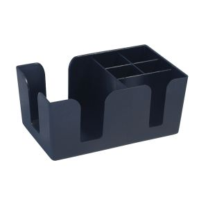 Bar Caddy 6 Bay Black No Cover product photo