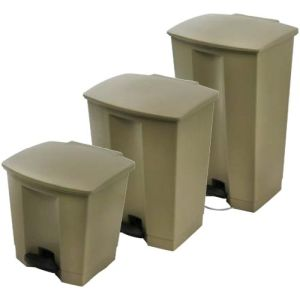 Step-on Pedal Bin Beige product photo