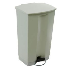 Step-on Pedal Bin White product photo