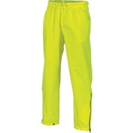 Breathable Rain Trousers Yellow product photo