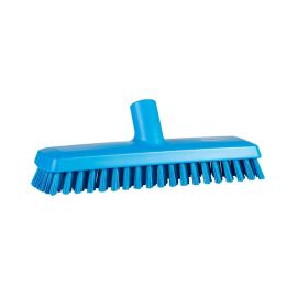 Vikan 28/70413 Deck Scrub Waterfed Hard 270mm Blue product photo